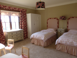 Twin bedroom for the girls