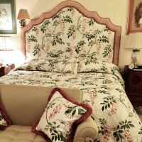 Traditional shaped Headboard