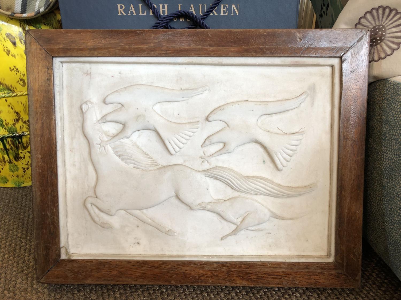 17th Century Marble Plaque